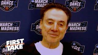 Why Rick Pitino is OK with not seeing Duke and Kentucky in the NCAA Tournament | First Take