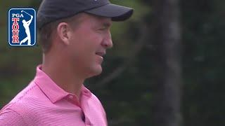 Peyton Manning birdies par-3 at Capital One's The Match