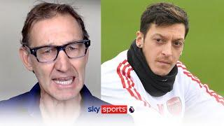 Tony Adams calls for Mesut Ozil to be brought back into the Arsenal first-team