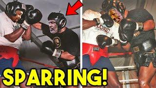 *LEAKED* ROY JONES JR SPARRING! CAN HE KNOCK OUT MIKE TYSON! *SECRET TRAINING REVEALED*