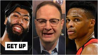 Woj on Anthony Davis finalizing 5-year deal with Lakers & breaks down Rockets-Wizards trade | Get Up