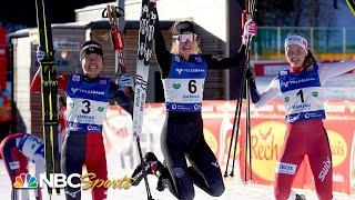 American Geraghty-Moats wins historic inaugural world cup event | NBC Sports