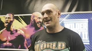 Tyson Fury: Everyone Said I Couldn't Knock out Wilder, I Proved Everyone Wrong!   INTERVIEW