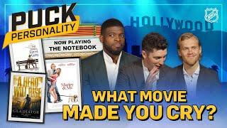 NHL stars reveal the last movie that made them cry   Puck Personality   NHL