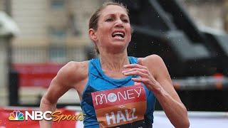 Sara Hall runs second fastest American marathon time EVER at Marathon Project | NBC Sports