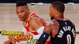 Damian Lillard Says Beef Between Him & Russell Westbrook Is Total Made Up BS | The Fumble