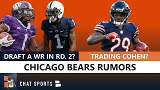 Bears Rumors On Drafting A WR, Trading Tarik Cohen & Looking Back On Taking Trubisky Over Mahomes