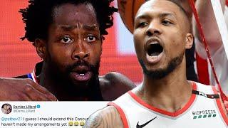 Damian Lillard TRASHES Patrick Beverley, Clippers After They CHOKED In Game 7 And Blew 3-1 Lead