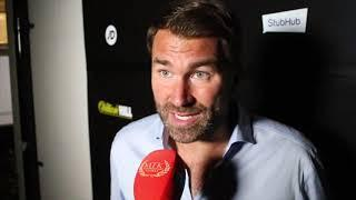 'WHAT A F****** BANGER' -EDDIE HEARN REACTS TO FIGHT CAMP, CHEESEMAN WIN, TV CROWD NOISE, CORNER PPE