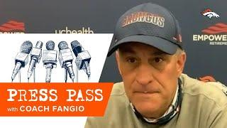 '[I] liked the urgency and the focus of the players': Coach Fangio details Broncos' training camp