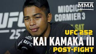 With UFC 252, Kai Kamaka III Got His Shot After Chasing Sean Shelby For Years - MMA Fighting
