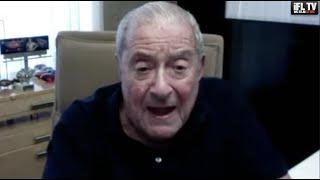 BOB ARUM SLAMS MAYWEATHER-LOGAN PAUL / REACTS TO PACQUIAO-MCGREGOR RUMOURS & CANELO-DAZN LEGAL CASE