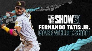 MLB The Show 21 Cover Shoot with Fernando Tatís Jr.! (Behind the scenes with Padres star!)