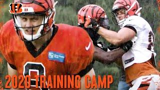 First Day of Pads  2020 Training Camp | Cincinnati Bengals