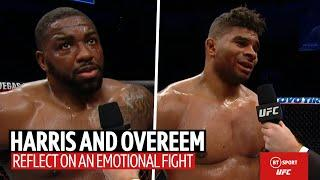 Emotional Walt Harris on returning to UFC after the loss of his stepdaughter