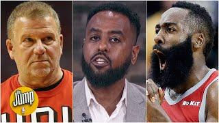 The Harden-Westbrook trade saga has Tilman Fertitta feeling 'very hurt' - Amin Elhassan | The Jump