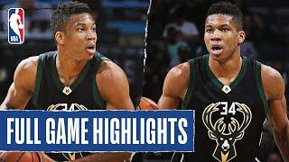 Giannis Antetokounmpo Records His First Career Triple-Double!