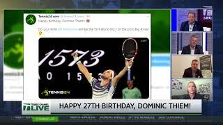 Tennis Channel Live: The Social Net, Dominic Thiem's Birthday