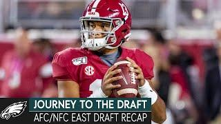 Inside Scouting For The XFL & NFC/AFC East Draft Recaps | Journey to the Draft