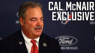 EXCLUSIVE INTERVIEW with Chairman and CEO Cal McNair on GM Nick Caserio and Houston Texans Future