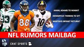 NFL Rumors On Jamal Adams Trade, Martavis Bryant, Demaryius Thomas & Miles Sanders | Mailbag