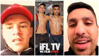 'NOTHING BUT RESPECT' - LEE McGREGOR & KASH FAROOQ DISCUSS THEIR FIGHT & HOW BIG THE REMATCH WILL BE
