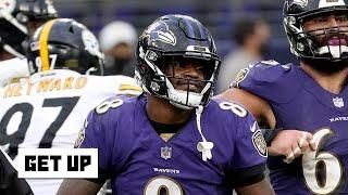 Was Lamar Jackson the only Ravens player not to outplay the Steelers last Sunday? | Get Up