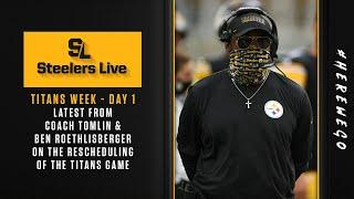 Steelers Live: Titans Week - Day 1