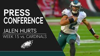 """Jalen Hurts: """"We Left Money on the Table"""" 