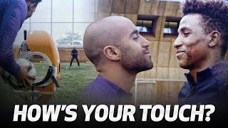 HIGH-SPEED BALL CANNON | HOW'S YOUR TOUCH? | Ft. Lucas Moura & Gedson Fernandes