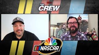 Kevin James works with NASCAR's Ryan Blaney, Austin Dillon on 'The Crew' | Motorsports on NBC