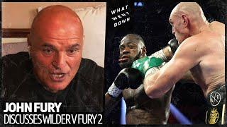 "John Fury drops some truth bombs on Deontay Wilder ""He is mentally destroyed!"""
