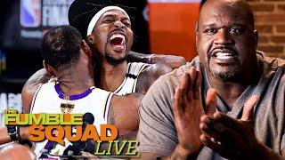 Shaq Goes OFF On Dwight Howard Celebrating Like He Helped The Lakers Win 'Sit Your Ass Down'