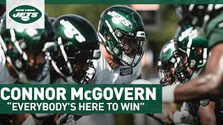 """""""Everybody's Here To Win""""   Connor McGovern 1-On-1   New York Jets"""