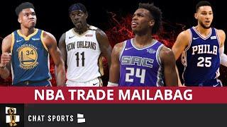 Giannis To Warriors? Buddy Hield To Lakers? + NBA Trade Rumors Mailbag On Ben Simmons & Jrue Holiday