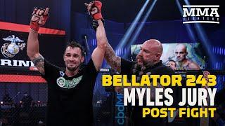 Bellator 243: Myles Jury Wants Title Shot After Decision Win - MMA Fighting