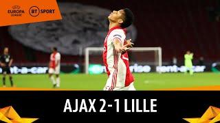 Ajax vs Lille (2-1) | Europa League Highlights