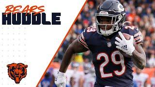 Cohen and Patterson's explosiveness | Chicago Bears Miller Lite Bears Huddle