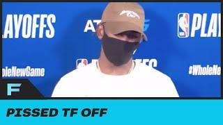"""Chris Paul Doesn't Care About Getting Fined For Trashing Ref Scott Foster """"S--- Don't Make No Sense"""""""