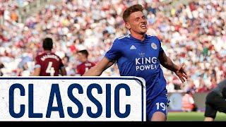 Barnes Scores First Foxes Goal In Late Draw | West Ham United 2 Leicester City 2 | Classic Matches