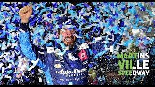 Martin Truex Jr. wins, Hamlin-Logano trade shoves | Martinsville Speedway playoff race 2019