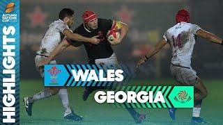 Wales 18-0 Georgia | Wales end run of defeats | Autumn Nations Cup highlights