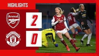 HIGHLIGHTS | Arsenal vs Manchester United (2-0) | Women's Super League