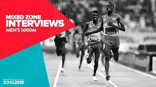Men's 5000m Interviews | World Athletics Championships Doha 2019