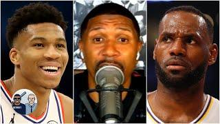 Jalen Rose breaks down why Giannis should win NBA MVP over LeBron | Jalen & Jacoby