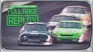 NASCAR Full Race: Bobby Labonte's first Cup Series win   1995 Coca-Cola 600 at Charlotte