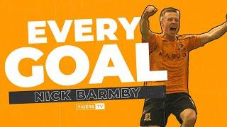 EVERY GOAL | Nick Barmby's 32 Hull City Goals Back to Back!