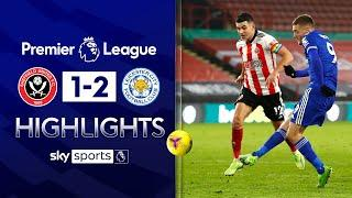 Vardy's LATE winner moves Foxes to third! | Sheff Utd 1-2 Leicester | Premier League Highlights