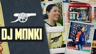 DJ Monki   'I was playing to crowds of people & watching the derby!   Behind the Cannon