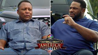 Barry Sanders, Jerome Bettis discuss franchise QBs, legends | Football Night in America | NBC Sports